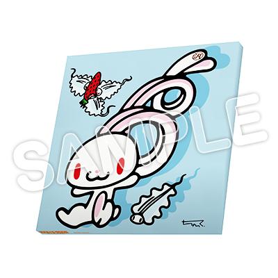 いたずらぐまのグル〜ミ〜 × 汎用うさぎ 限定キャンバスアート
