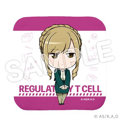 はたらく細胞!! 制御性T細胞 ハンカチタオル