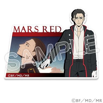 MARS RED ステッカー